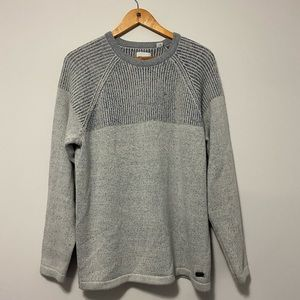 Only & Sons OnsPeer 7 Plated Crewneck Knit Sweater